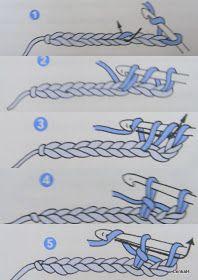 Fizule71: Háčkování - základní druhy sloupků Crochet Stitches For Beginners, Loom Knitting, Knit Patterns, Clothes Hanger, Needlework, Diy And Crafts, Knit Crochet, Hair Accessories, Handmade