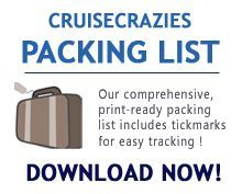 The CruiseCrazies Cruise Packing List is an invaluable resource for every future cruise or vacation.