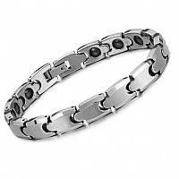 Women's Anti-fatigue Health Magnetic Tungsten Bracelet TungstenLove. $28.99. Width: 8.5mm. Length 19.5cm. Specifications:. Weight: 56g