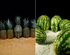 By focusing on the human head, Stoetter has made his living canvases into tasty looking fruit. Not only does he paint bodies, but Stoetter also usually photographs his own art.