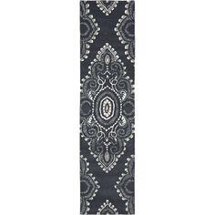 Safavieh Handmade Chatham Mystic Dark Grey New Zealand Wool Rug (2'3 x 9')