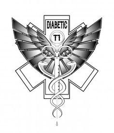 type+1+diabetes+tattoo+designs | Pin Diabetes Tattoojpg on Pinterest