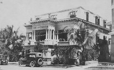 Hotel Axtmayer en Miramar, San Juan, Puerto Rico (1920)