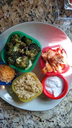 21 Day Fix - Buffalo Chicken Quinoa Bowl