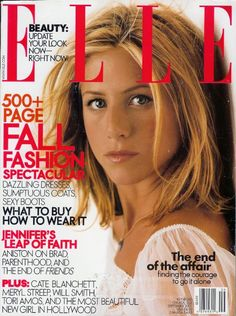 Jennifer Aniston - Elle Magazine [United States] (September 2001)