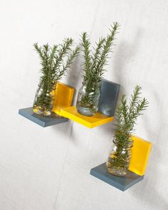 Simple Shelf  Wall Storage  Bookshelves  Floating by AnotherCup
