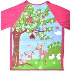 Bobble Art - Smock - Woodland