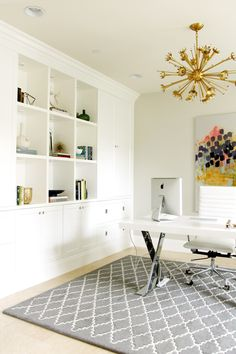 home office cabinet design ideas. Awesome Home Office. Office Cabinet. Built-in Cabinet Studio McGee. The Post Design Ideas