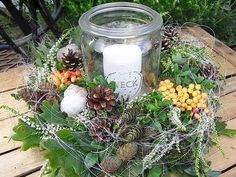 * Door wreath / table wreath * * heather walk Fresh natural wreath is looking for dry… - glass ideas - - Christmas Decorations, Table Decorations, Autumn Photography, Engagement Ring Cuts, Diy Flowers, Door Wreaths, Wedding Centerpieces, Christmas Time, Advent