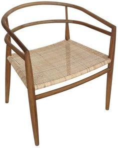 Noir Finley Chair - Teak