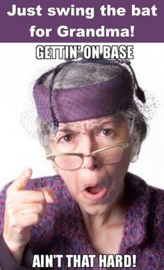 Do it for Grandma? #baseball #baseballtour #baseballjourney #baseballjournal #rvlife
