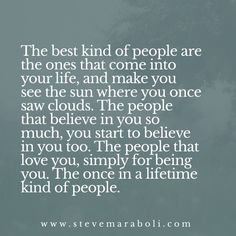 The best kind of people...