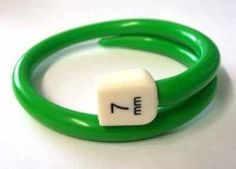 recycled knitting needle bracelet! great idea. (wish I'd thought of it!)