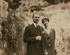 Prince Barbu Stirbey and his wife Nadeja. He was Queen Marie's lover Prince Barbu Stirbey and his wife Nadeja. He was Queen Marie's lover Romanian Royal Family, Queen Mary, Lady Diana, Ferdinand, Eastern Europe, Mistress, Reign, Georgia, Royalty