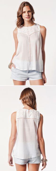 Miss Ipekyol / blouse white - modagram.com