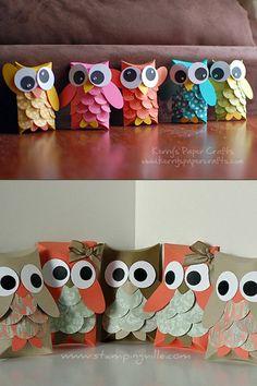 Retrouvez 10 idées de bricolage DIY à mettre en pratique à partir de rouleaux de papier toilette. Idéal pour faire du bricolage avec vos enfants le dimanche