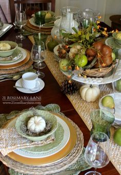 Our Thanksgiving Table 2015