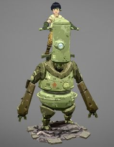 Handlebot Picture  (3d, sci-fi, robot)