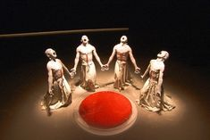 One of only about a dozen internationally recognized Japanese Butoh companies, Sankai Juku tempers the grim qualities of the traditional art with the theme of rebirth.