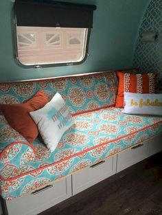 Image result for diy couch bed for a travel trailer