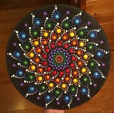This dot mandala is one of my favorites crafting with debbie ideas камни.