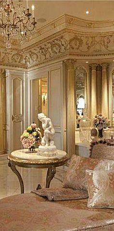 Luxury Interiors. Traditional Home.