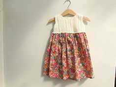 Girl's Tana Lawn Liberty Print dress