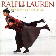 Ralph Lauren add from the 80's shot (of Kim Nye) by the amazing Bruce Weber...one of my all time favorite Holiday pictures..I think this is a CD cover