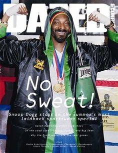 Snoop Dogg na capa da Dazed & Confused