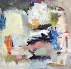 "In Toto, 2007, Acrylic on canvas, 52""x50"", Elizabeth Schuppe"