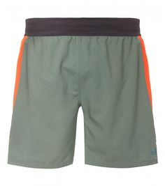 The North Face Men Better Than Naked Long Haul shorts Laurel Wreath Green/Power Orange
