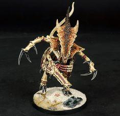 Warhammer Figures, Warhammer Models, Warhammer 40k Tyranids, Warhammer 40000, Necron, Monster Concept Art, Fantasy Miniatures, Mini Paintings, Dark Fantasy Art