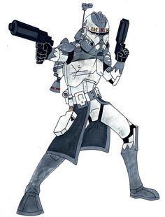 Commander Wolffe Phase II