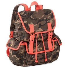 Olsenboye Neon Camo Backpack - click the picture to visit Beso.com and check it out! $35