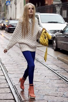 love love love the sweater.
