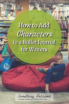 Creating a bullet journal for your writing is an amazing way to stay organized. Find out how to keep track of your characters in collections within your bullet journal by clicking through to this post! | Something Delicious