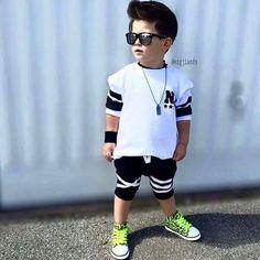 Baby Boy Fashion, Kids Fashion, Swag Boys, Stylish Kids, Kids Outfits, Sporty, Urban, Style, Jr