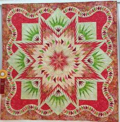 Glacier Star, Quiltworx.com, Made by CS Quilt Foundry Click here to find their Certified Shop page: http://www.quiltworx.com/certifiedshops/...