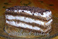 POTŘEBNÉ PŘÍSADY: Těsto: 4 bílky 140 g cukru krupice 140 g strouhaných vlašských ořechů Náplň: 250 ml smetany ke šlehání Dále: 50 g čokolády na vaření.
