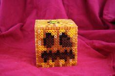 Light Up Minecraft Pumpkin Inspired Box Made of by BraveDeity