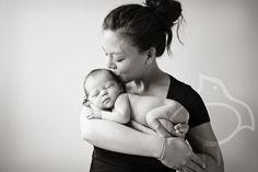 Newborn, baby fotografie Lach eens...©
