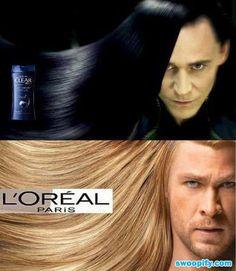 Avenger Hair Advertisement #humor #lol #funny