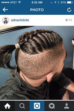 Undercut braid