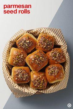 Parmesan Seed Rolls
