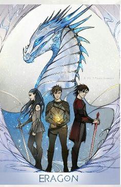 Eragon by Christopher Paolini Fantasy Dragon, Dragon Art, Fantasy Art, Eragon Saphira, Murtagh Eragon, Eragon Fan Art, Inheritance Cycle, Christopher Paolini, Got Dragons