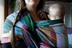 Pavo- Klee wrap. Incredible weave. Heavy and durable and slightly rough almost like you're holding a carhart jacket. The feel of it brought so much nostalgia for me... Farms, working outside, just... So perfectly amazing. Heavy, but not like silk 2B heavy. Way easier to wrap with for me than Farrand or sketchy. I loved it a lot.