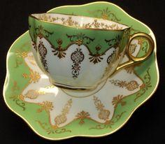 Coalport demitasse teacup, circa 1890