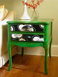 Velador en verde 8