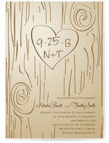 Invitation-THIS KINDA GOES WITH THE INITIALS ON TREE YOU DID AND THE FOREST THEME HUH?