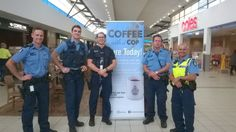 """""""Coffee With A Wembley Cop""""  Went Well Today."""